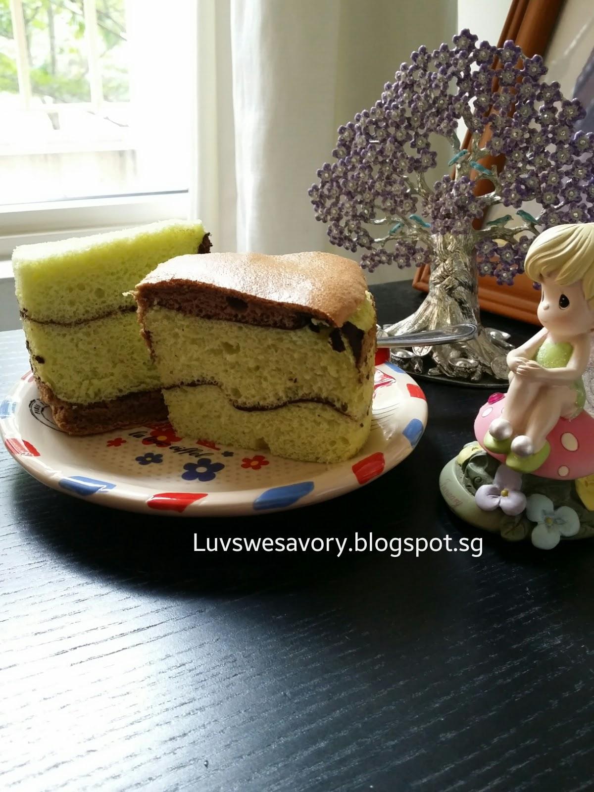 Domestic Goddess Chocolate Chiffon Cake