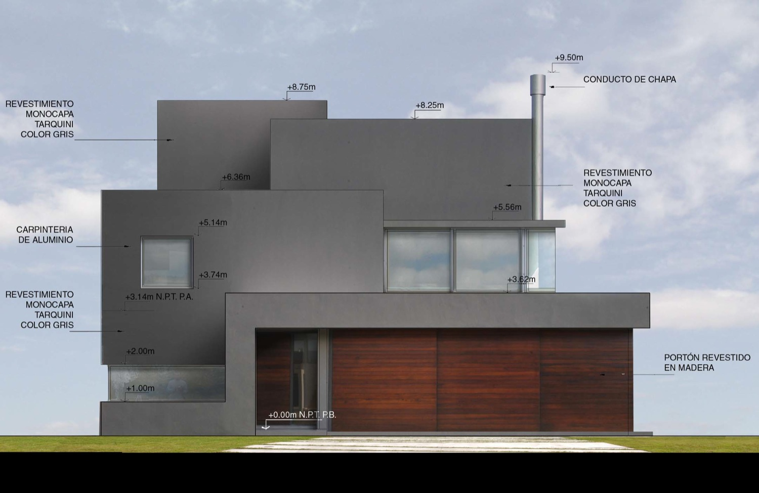 Modern Architectural Elevations Modern House