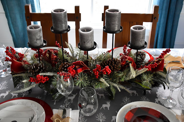 Easy Christmas Table Decor Ideas