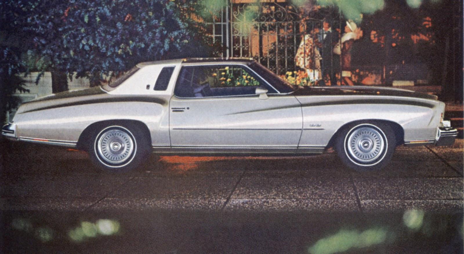 1973-1977 Monte Carlo: Baroque Luxury Car