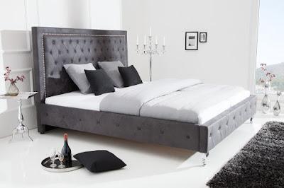 postele Chesterfield, celočalúnené postele