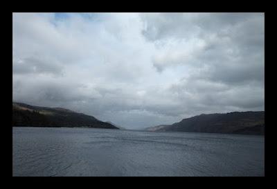 Lago Ness na Escócia