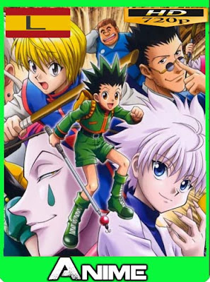 Hunter x Hunter (1999) [62/62] latino HD [720P] [GoogleDrive][BRRip] RijoHD
