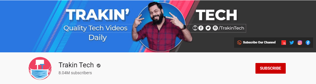 most subscribed tech youtube channel 2021