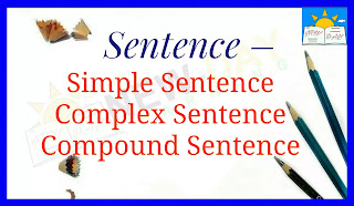 Simple Sentence, Complex Sentence, Compound Sentence. | Classification of Sentences According to Their Structures.