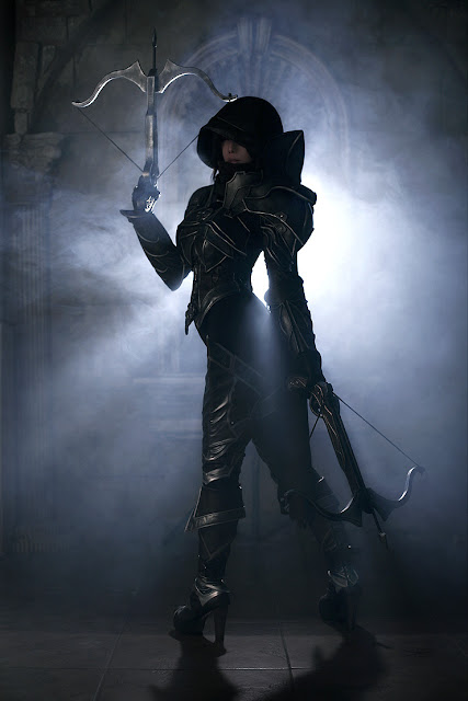 demon hunter cosplay diablo