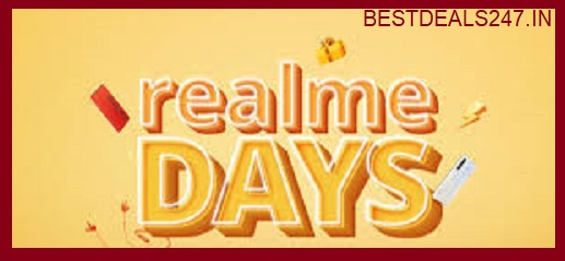 Realme Days Sale ( 19 - 22 March )