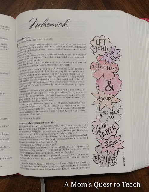coloring page from Nehemiah