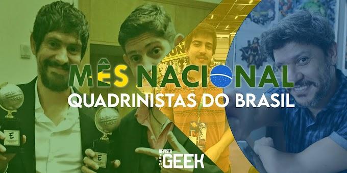 5 Quadrinistas brasileiros que você precisa conhecer