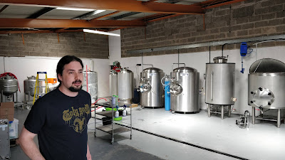 Johnny Horn and the Holy Goat brewery