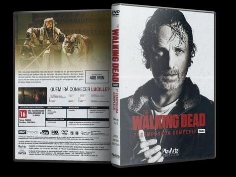 The Walking Dead - 7ª Temporada - Discos 1 e 2