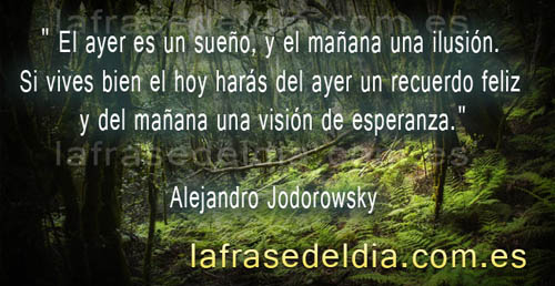 Citas motivadoras Alejandro Jodorowsky