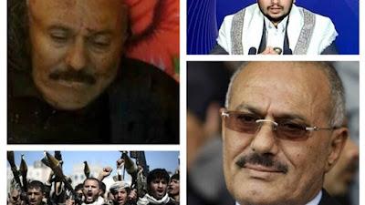 علي عبد الله صالح والحوثيين
