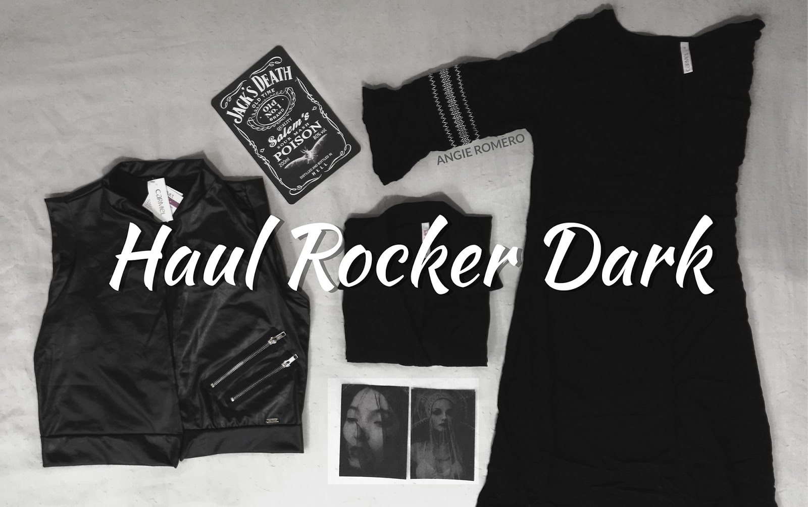 Haul de ropa negra y alternativa ROCKER, DARK AND GOTH
