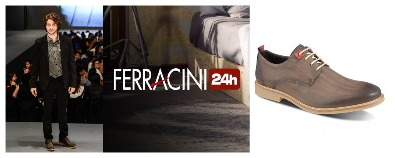 c23a341ad34 Na CÓDIGO B você já encontra a nova coleção de sapatos e sapatênis da FERRACINI  24H. A nova coleção traz sapatos e sapatênis para homens modernos que ...