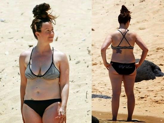 alanis morissette: tubuh selebriti terburuk di pantai