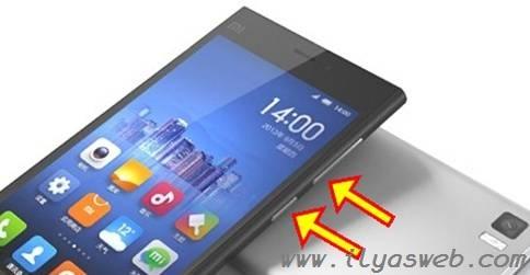Cara screenshot hp xiaomi