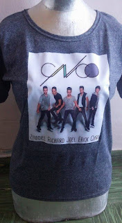 Remera de CNCO Zabdiel Richard Joeal Erick Chris