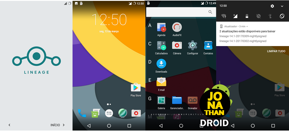 ROM - Lineage OS 14 1 OFICIAL - Android 7 1 1 Nougat