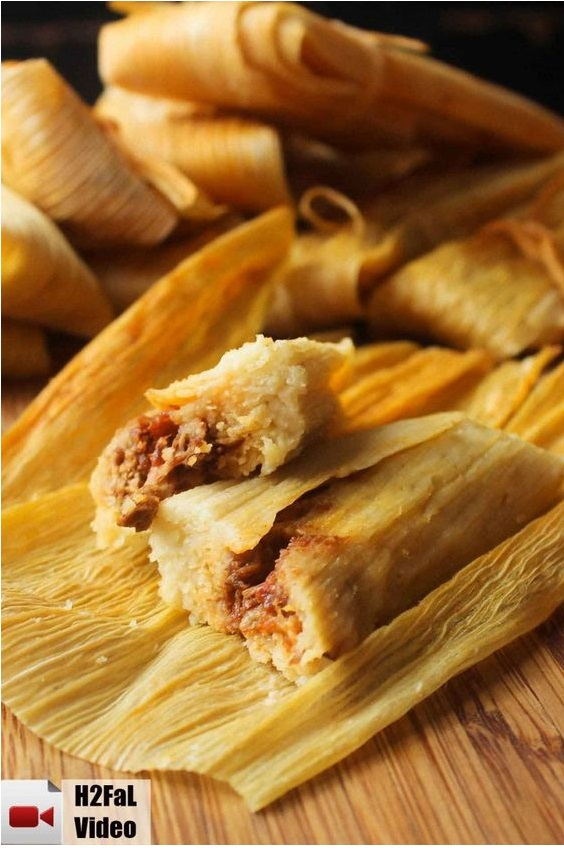 Authentic Homemade Tamales