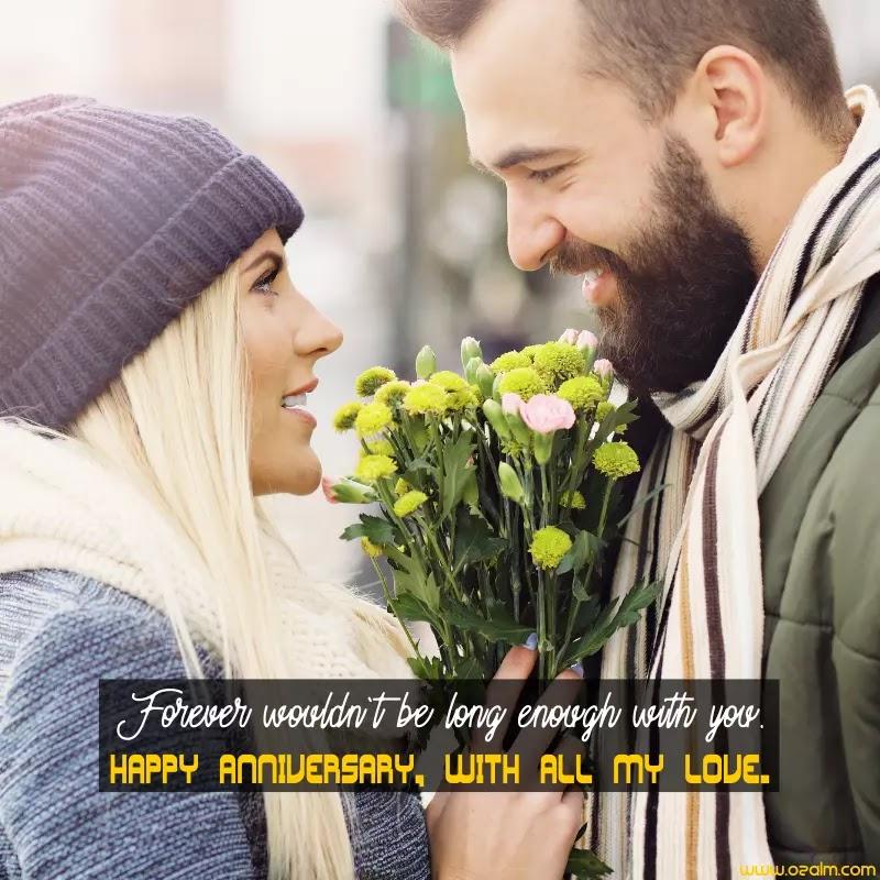 Anniversary Wishes for Girlfriend