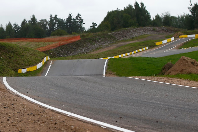 Asphalt road on Rally Estonia