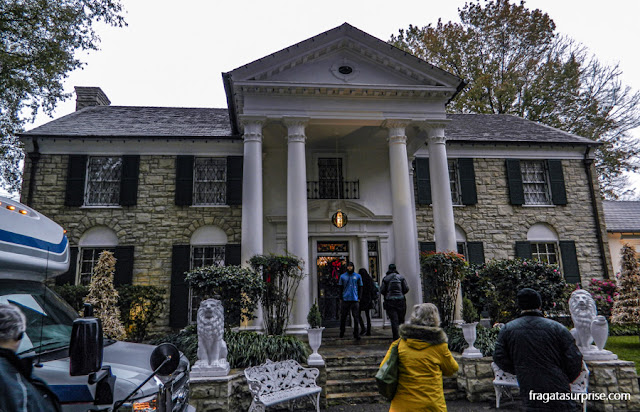 Graceland, a casa de Elvis Presley