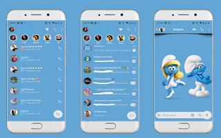 Smurfs Theme For YOWhatsApp & Fouad WhatsApp By Leidiane