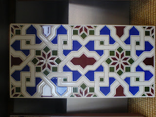 'Granada' range tile ('Sacramonte'), by Fired Earth