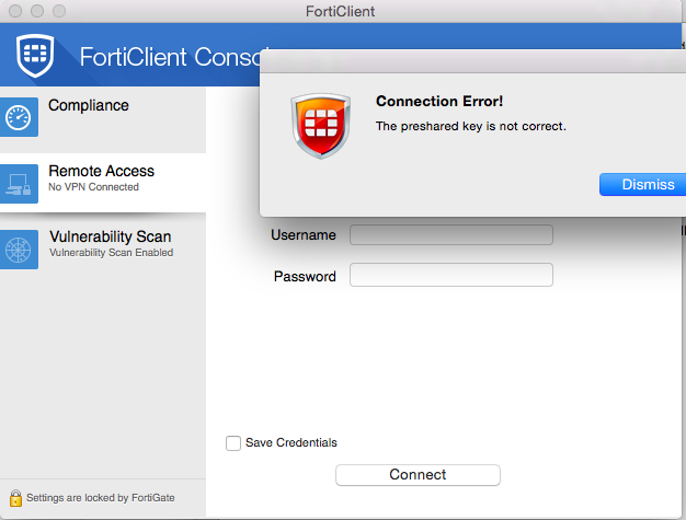 Ken Felix Security Blog: FortiClient Trouble-Shooting IPSEC-vpn