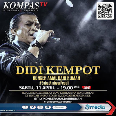 Konser Amal Dari Rumah Didi Kempot Kompas TV
