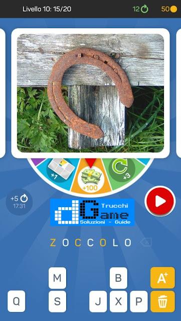 Kezako: Immagine Misteriosa soluzione pacchetto 10 livelli (1-20)