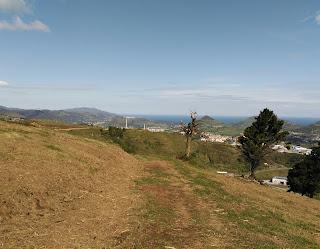Vista desde la campa del asturiano