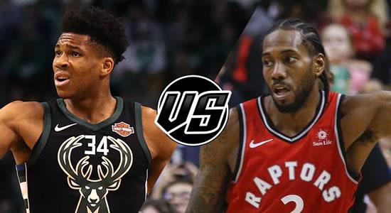 Live Streaming List: Milwaukee Bucks vs Toronto Raptors 2018-2019 NBA Season