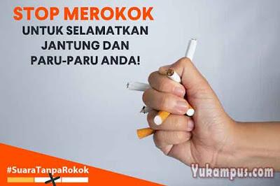 iklan non niaga bahaya merokok