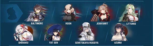 Azur Lane World of Warships