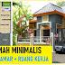 Rumah Minimalis 10x10 2 Kamar Tidur dan Ruang Kerja