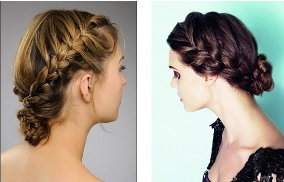 Hairstyles Wedding Braided Updo Hairstyles