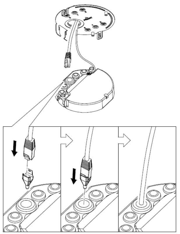 How to install a junction box on a Hikvision camera