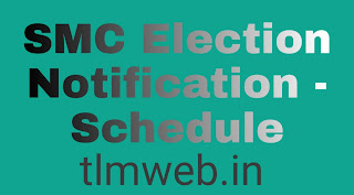 SMC Election Notification - Schedule
