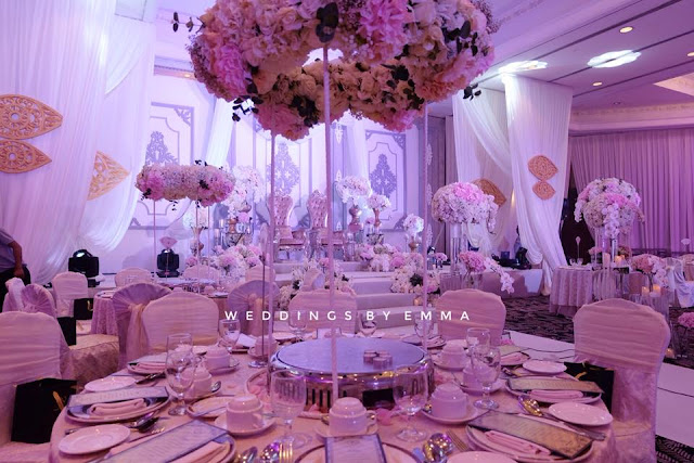 purple hues decor