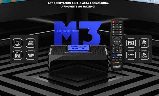 Mibosat M3 Primeira Atualização V4.0.77 - 06/10/2021