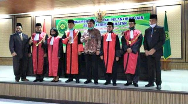 Alih Tugas Jabatan Ketua Pengadilan Negeri Kelas 1 B Tulungagung