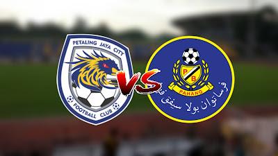 Live Streaming PJ City vs Pahang Liga Super 6 Mac 2020
