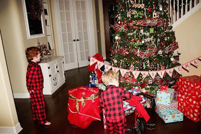 Choosing Joy Today Christmas Tree On Christmas Morning 2012