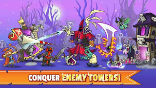 Tower Conquest Apk Mod + Data Unlimited Gems Free Download Offline For Android