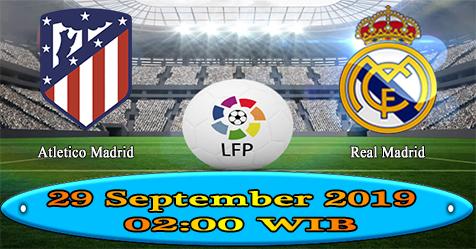 Prediksi Bola855 Atletico Madrid vs Real Madrid 29 September 2019