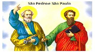 Cantos para missa de São Pedro e São Paulo