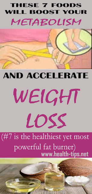 7 Foods That Are Proven To Accelerate Weight Loss!#NATURALREMEDIES