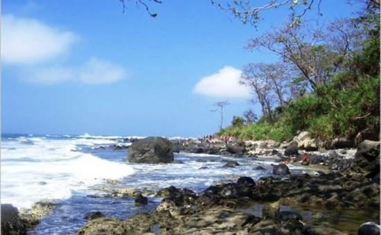 Pantai Jayanti tempat wisata di cianjur